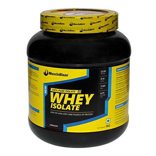 MuscleBlaze Whey Isolate, Chocolate, 2.2 lbs