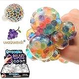 UvaQuetsch ® Quetschball +++ Galaxie Quetschball +++ inkl. Geschenkbox +++ Antistressball Stressball Knetball Quetschi