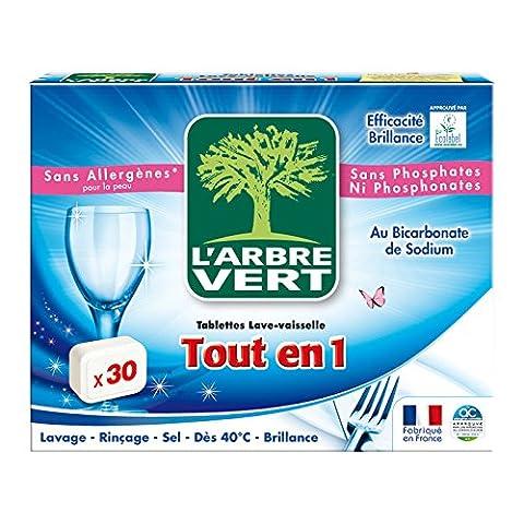 L'Arbre Vert - Tablettes Lave-Vaisselle Tout en 1 - 30