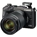 Canon EOS M6 Systemkamera (24,2 Megapixel, 7,62 cm (3 Zoll), APS-C CMOS-Sensor, DIGIC 7 Bildprozessor, Full-HD) Kit inkl. EF-M 18-150mm 1:3,5-6,3 IS STM Objektiv schwarz