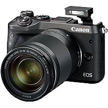Canon EOS M6 + EF-M 18-150mm 1:3.5-6.3 IS STM MILC 24.2MP CMOS 6000 x 4000Pixeles Negro - Cámara digital (24,2 MP, 6000 x 4000 Pixeles, CMOS, Full HD, Pantalla táctil, Negro)