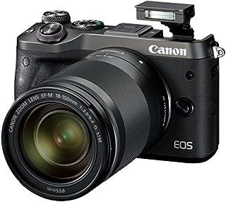 Canon EOS M6 + EF-M 18-150mm 1:3.5-6.3 IS STM MILC 24,2 MP CMOS 6000 x 4000 Pixeles Negro - Cámara digital (24,2 MP, 6000 x 4000 Pixeles, CMOS, Full HD, Pantalla táctil, Negro) (B06WP66SVV)   Amazon Products