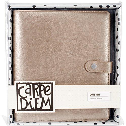 Unbekannt Carpe Diem Platinum Planer, braun, A5