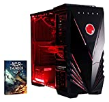 Vibox VBX-PC-AMZ-8441 Submission 29 Gaming Desktop-PC (AMD Phenom Quad Core FX-8350, 16GB RAM, 2TB HDD, NVIDIA Geforce GTX 960, kein Betriebssystem) rot