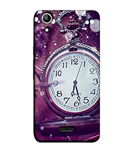 Fuson Designer Back Case Cover for Micromax Canvas Selfie Lens Q345 (Designer watch theme)