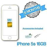 """Apple iPhone 5s 64GB 4G Oro - Smartphone (10,16 cm (4""""), 1136 x 640 Pixeles, 800"""