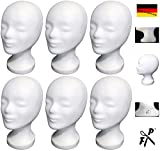 6-Pack FP - Styroporkopf Standard - TOP Marken-Qualität aus deutscher Herstellung - AKTIONSPREIS