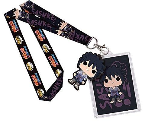 Naruto Shippuden - Schlüsselband Keychain - Mit Anhänger - Sasuke