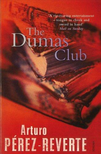 The Dumas Club (Harvill Panther) by Arturo Perez-Reverte (1997-06-05)