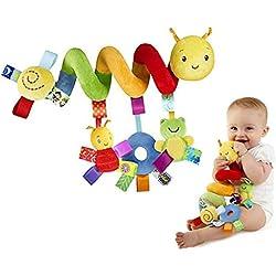 Espiral de actividades Cama y Cochecito de Juguete Infantil con Dispositivo BB Colgando Cuna Sonajero Bebé Kids Toys Juguetes