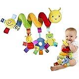 Multi-estilo Suave 0-12 Meses Bebé de Juguete Cama Espiral y Asiento del Cochecito del Coche Colgando bebes Educativo Sonajero Toys para Regalos Recién Nacidos