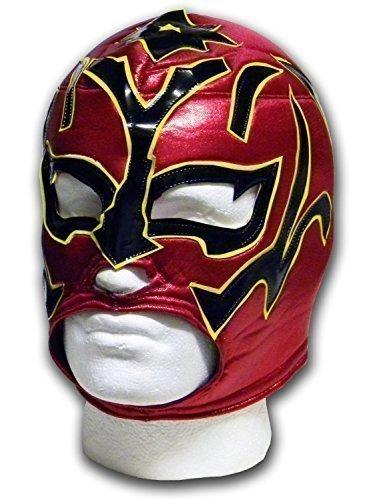 chwarz mexikanischen Wrestlers Erwachsene mexikanischen Lucha Libre Wrestling Maske (Lucha Libre Halloween-maske)