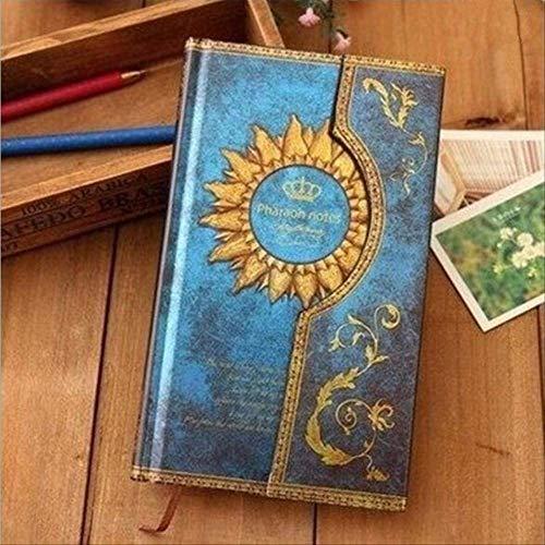 XYCYX Retro Vintage Magic Snap Notizbuch Reisetagebuch Notizblock Täglicher Wochenplaner Notizbuch Schreibwaren Zubehör Geschenk blau (Retro Snap Vintage)