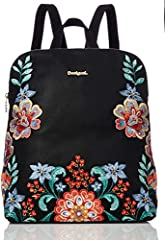 Idea Regalo - Desigual Odissey Nanaimo Backpack Negro