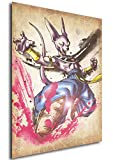 """Poster Dragon Ball""""Wanted"""" Beerus - A3 (42x30 cm)"""