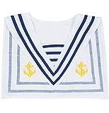 Das Kostümland Matrosen Sailor Matrosenkragen für Damen und Herren