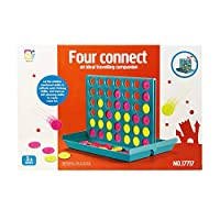 Koolbitz LARGE 4 in a Row, Classic Family Connect Game, Four in a Row Board Game Family fun Christmas Game