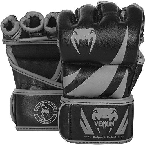Venum Challenger MMA Handschuhe, Schwarz/Grau, L/XL
