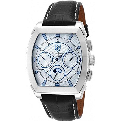 S. Coifman Man Quartz Watch SC008745.0mm