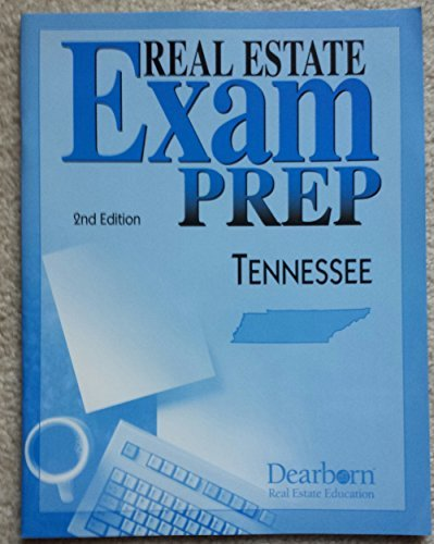 Dearborn Estate Education Real (Real Estate Exam Prep: Tennessee by Kaplan Real Estate Education (2005-10-26))