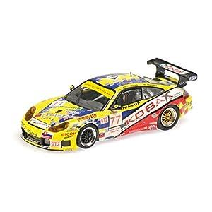 """Minichamps 400076977 - Escala 1:43 """"2007 Porsche 911 GT3 RS #73 - Modelo de 12 H Fundido"""