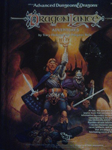 Advanced Dungeons & Dragons: Dragon Lance, Adventures by Tracy Hickman (1-Oct-1987) Hardcover