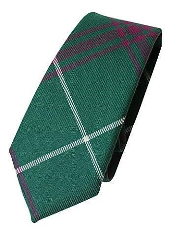 100% Wool Authentic Traditional Scottish Tartan Neck Tie - Welsh