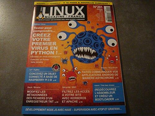LINUX MAGAZINE N°201 !! (NOUVELLE FORMULE)