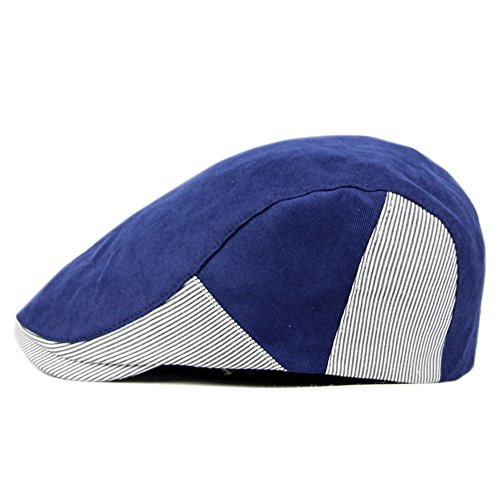 ellbar Männer Hüte Frühling Sommer Duck Caps Flatcaps Outdoorhüte Kontrast Farbe Kappe (Paperboy Hut Für Männer)