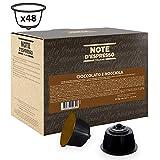 Note D'Espresso - Cápsulas de chocolate con avellana compatibles con cafeteras Dolce Gusto, 14g...