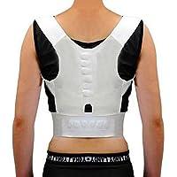 Bazaar Unisex Magnetfeldtherapie Posture Schmerz Corrector Verstellbare Rücken Schulter Begradigen Unterstützung