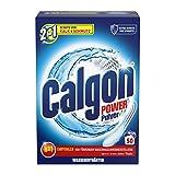 Calgon 2in1 Pulver, Wasserenthärter gegen Kalk und Schmutz in der Waschmaschine, 1.6 kg