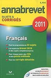 Français série générale, technologique et professionnelle : Sujets et corrigés 2011
