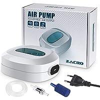 Zacro Acquario Pompa Areatore Silenzioso Portata 3L / min 2.5W