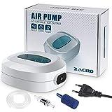 Zacro 2.5w Pompes à Air pour Aquarium,Ultra Silencieux,Débit 3L/Minutes,Flux d'Air Réglableultra,pour 35L-300L Aquarium