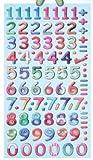 Creapop Sticker Softysticker * Design Zahlen - bunt * Aufkleber 3451136
