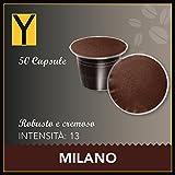 50 CÁPSULAS COMPATIBLES NESPRESSO – Milano