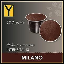50 CAPSULE NESPRESSO compatibili - MILANO