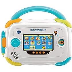 VTech 147905 - Jeu électronique - Tablette tactile Storio 3 Baby Avec Coque