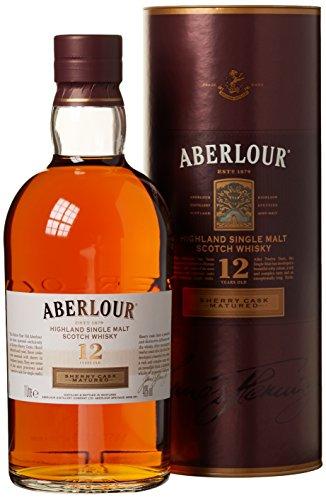 Aberlour 12 Years Old Sherry Cask Matured mit Geschenkverpackung  Whisky (1 x 1 l)