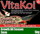 Carp Fishing Pellets Vita-Koi Growth All Season Koi Pellets 3 mm - 5 Kg - VitaKoi - amazon.co.uk