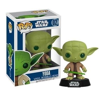 ! Star Wars Yoda Pop POP / FUNKO VINYL BOBBLE HEAD - STAR WARS: Yoda (japan import)