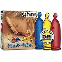 Secura Kondome Secura Fruit-Mix 24er, Diverse Farben preisvergleich bei billige-tabletten.eu
