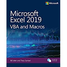 Microsoft Excel 2019 VBA and Macros (Business Skills) (English Edition)