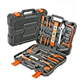 Werkzeugkoffer für Haushalt 50 tlg Werkzeugkasten bestückt mit Qualitätswerkzeug, ideal für Hobby, Haus und Werkstatt