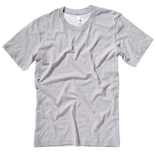 Jersey crew neck t-shirt Olive Bella Canvas Streetwear Shirts Manner Grau - Athletic Heather