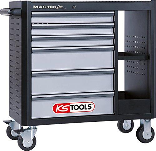 KS Tools Master 878.0006 - Carrito ruedas 6 cajones