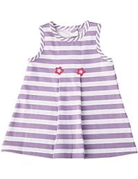 Vestido con rayas para vestido de verano para niña Chica Ropa 0725b