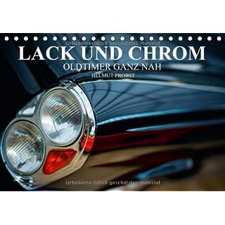 Lack und Chrom - Oldtimer ganz nah/CH-Version (Tischkalender 2014 DIN A5 quer): Fotos von edlen Oldtimern ganz nah (Tischkalender, 14 Seiten)
