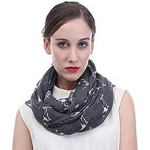 Loop Schal Tuch Schlauchschal Rundschal Halstuch abstrakt gemustert Mode Damen
